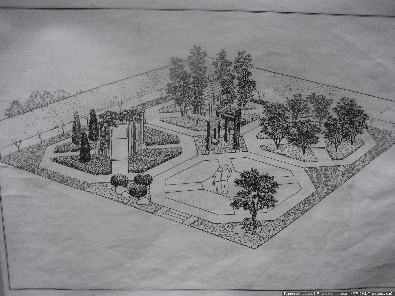 庭院設計(素描圖,平面圖,效果圖!)的圖片瀏覽,園林,,.