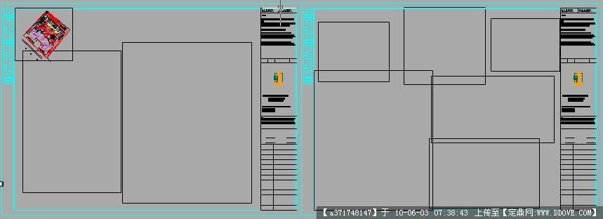 cad图框素材_cad图框模板