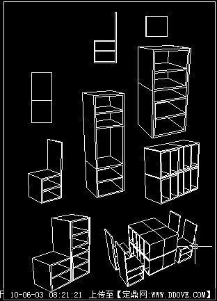 椅子设计cad的下载地址,三维模型,室内家具,园林建筑