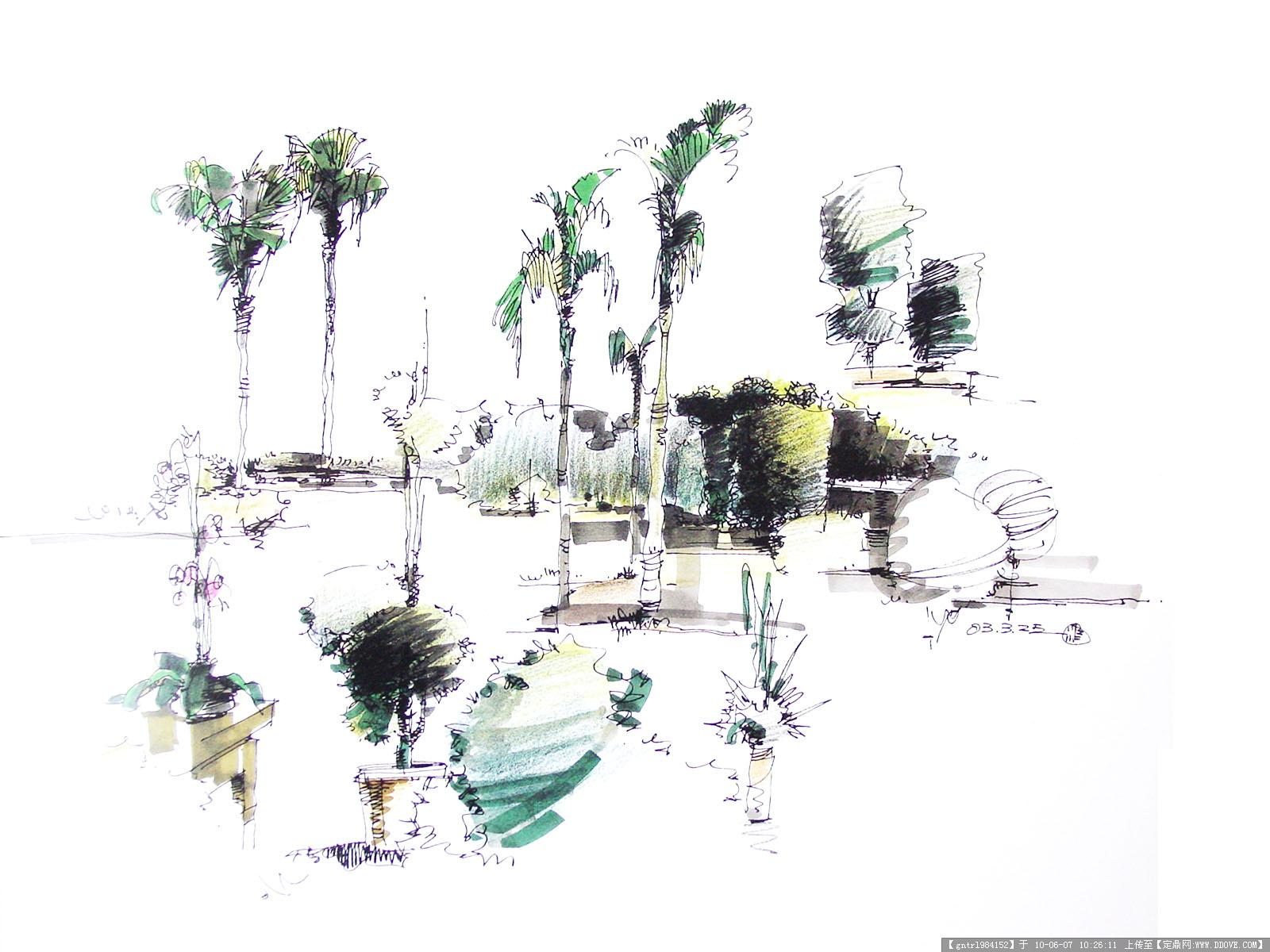 手绘 手绘; 手绘训练图 欢迎大家参观 - 室内手绘 - 绘世界网 - 最好