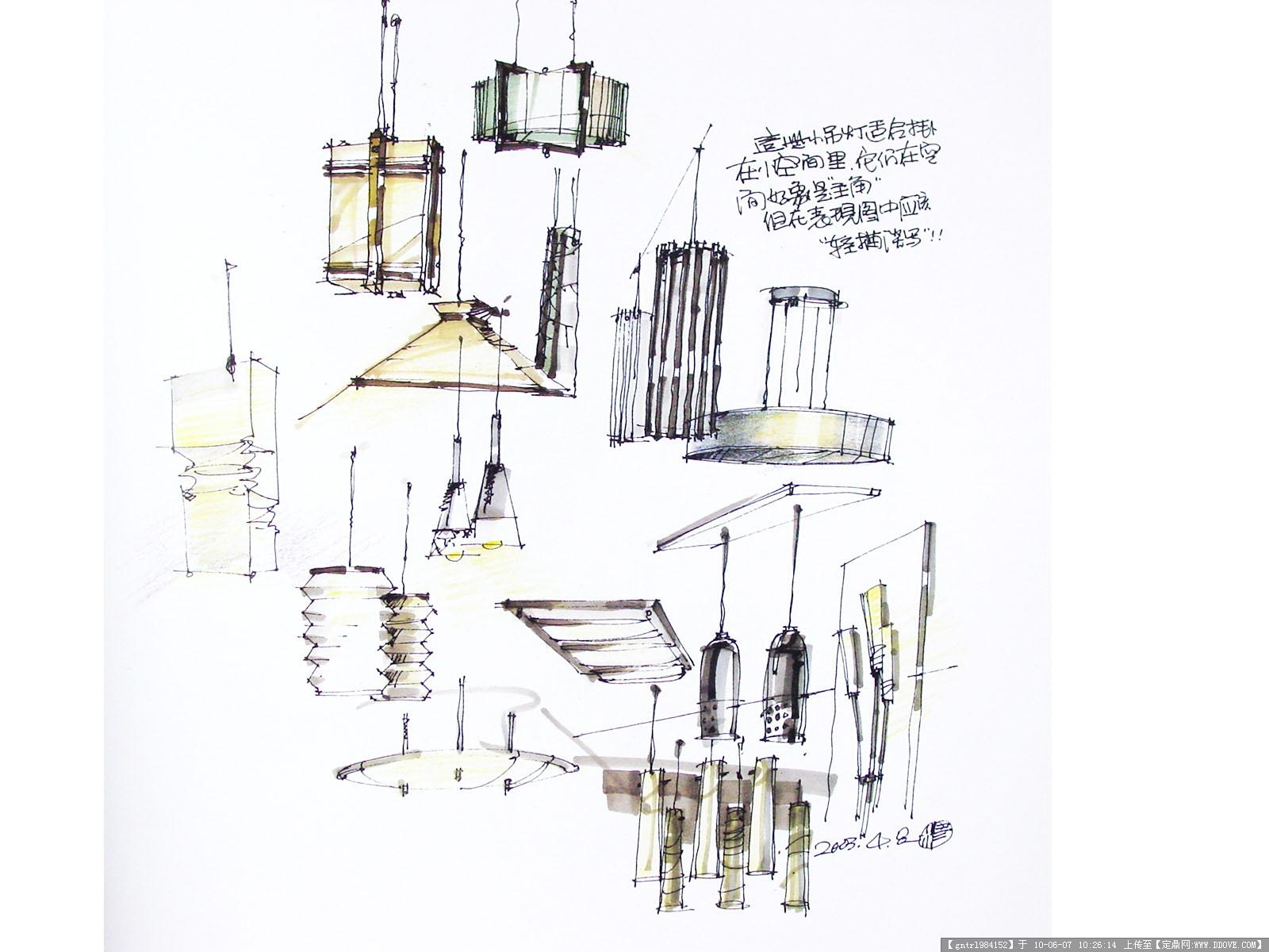 单体手绘设计图_生活用品_生活用品_生活百科; 经典室内