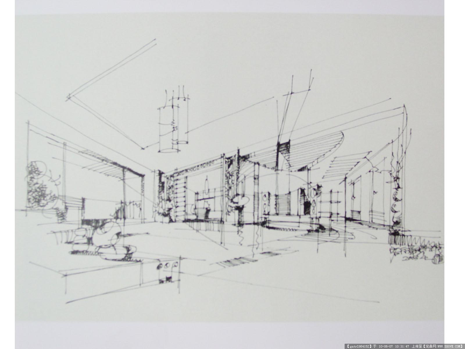 室内单个物体速写5; 手绘 训练图 欢迎大家参观 - 室内 手绘 - 绘世界