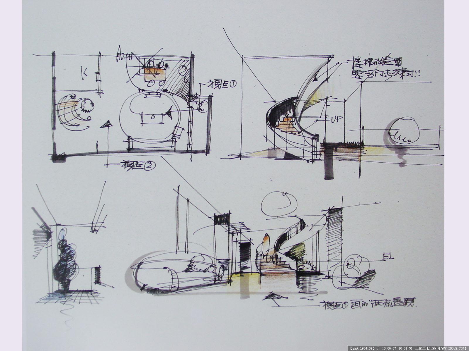 经典室内手绘62张的图片浏览,室内效 果图,其他空间,.