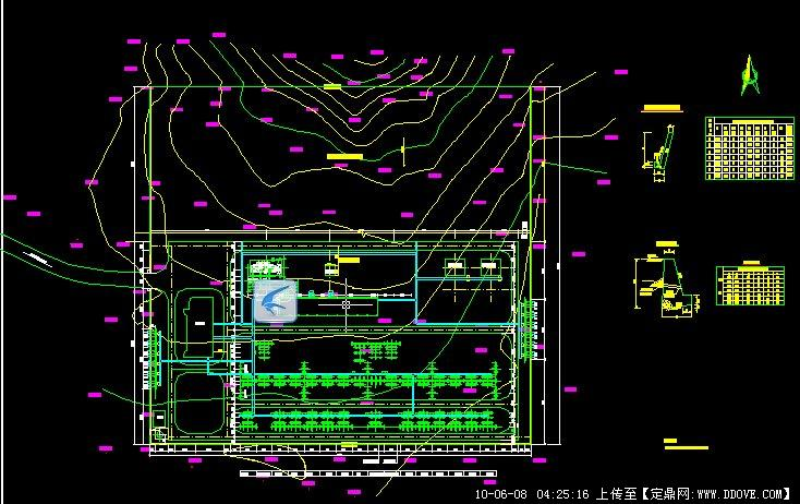 220kv变电站总体布置图