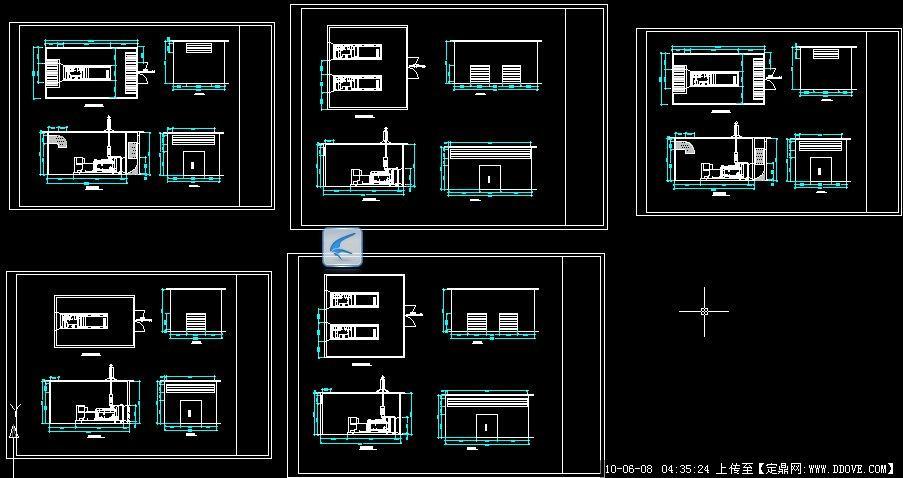 发电机房设计图_发电机房设计图纸3