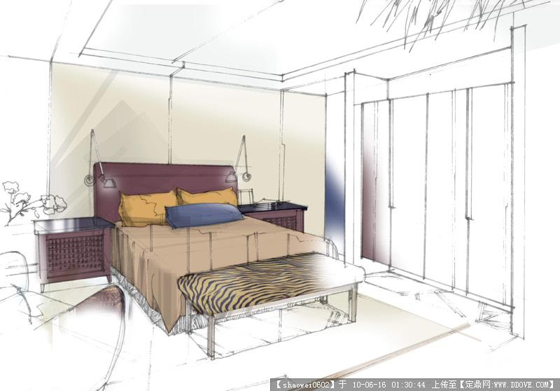 手绘效果图大全的图片浏览,室内效 果图,其他空间,_.