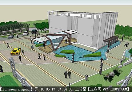 居住区售楼部景观设计