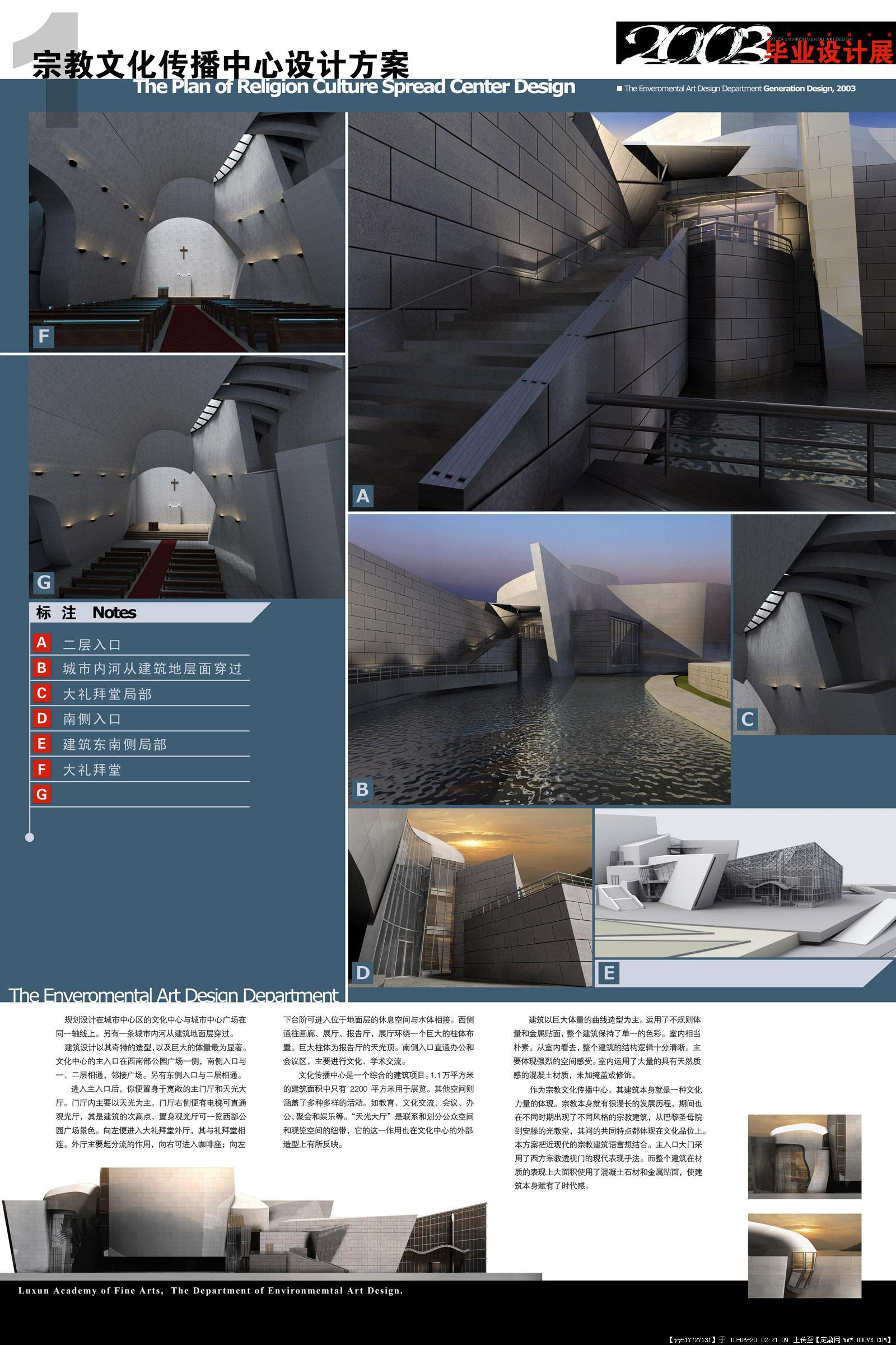 高校建设设计方案-毕业设计展板10张-大图的图片浏览