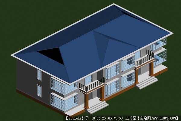 一整套的别墅外环境设计psd格式 广场su模型-组图 su模型 室内家具355