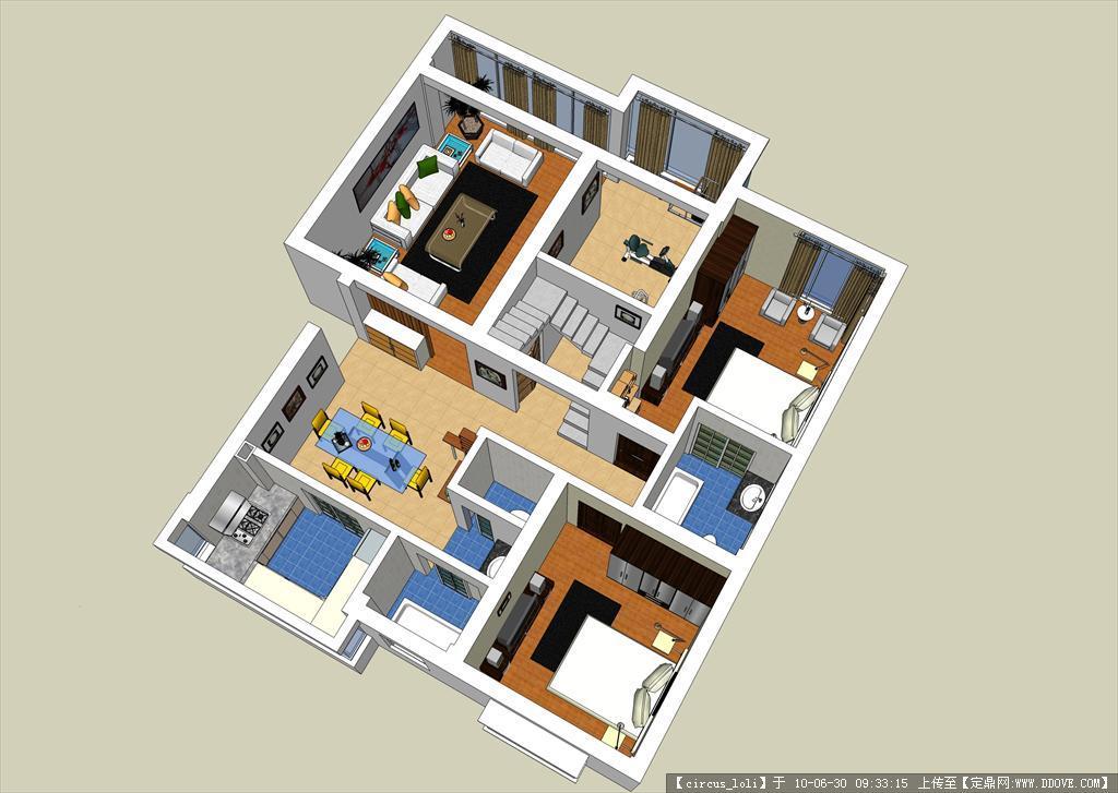 su不错的室内设计模型的下载地址图片