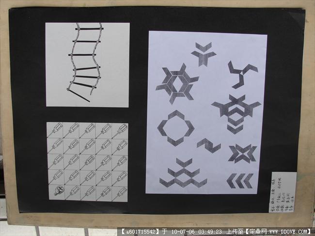 平面设计《点线面》习作图片几张