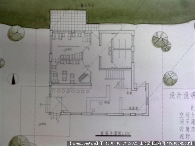 如何手绘300平米的餐厅设计图和效果图,它与建筑施工图有什么区别吗?图片