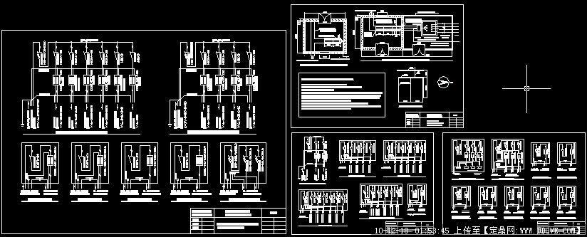 厂房工程临时用电系统图