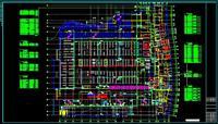 设计 电气/某大型超市电气平面图(一)...