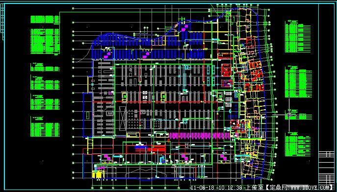 大型超市平面图展示_设计图分享图片