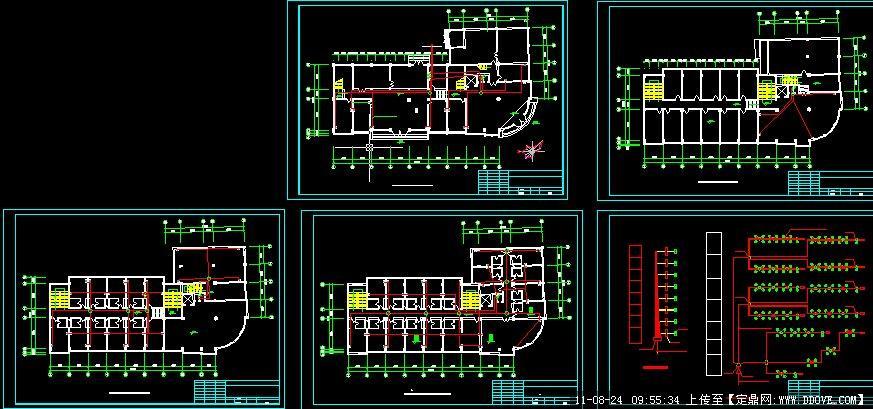办公室弱电设计图