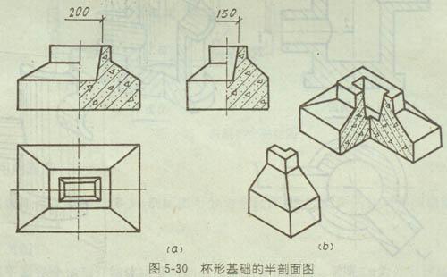 工程制图剖面图