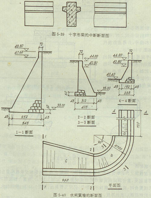 工程制图断面图的详细内容