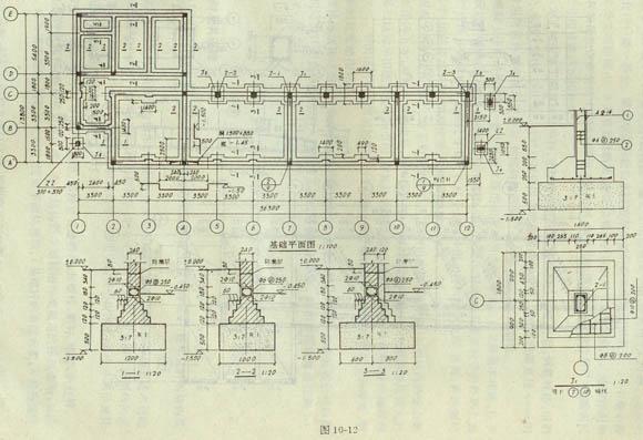 结构平面图中预制楼板的铺放