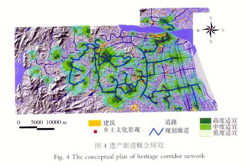 快速城市化地区遗产廊道适宜性分析方法探讨——以台州市为例