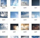 非常好的天空贴图素材