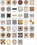 各种广场拼花素材图案打包下载